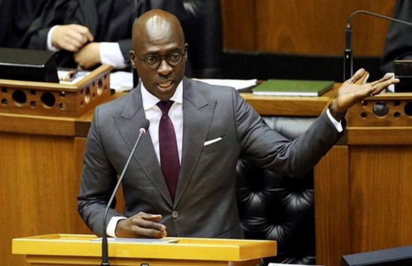 South Africa Home Affairs minister Malusi Gigaba, Sex tape