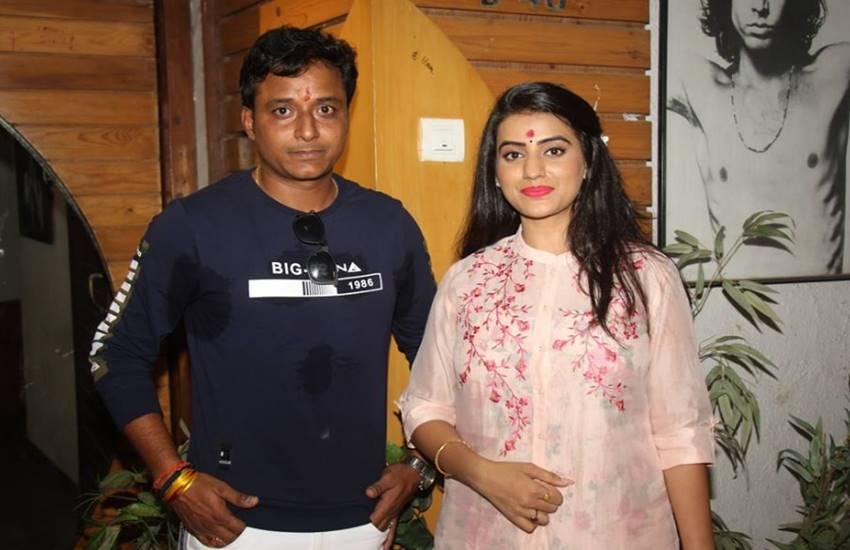 akshara singh, amrish singh, movie, bhojpuri