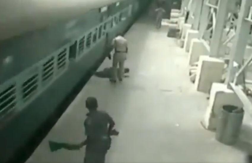 Egmore station incident video