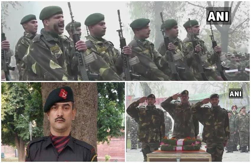 Terrorist, Army, Encounter, Dies for Nation, Nazir Ahmad wani, Shopian Encounter, आर्मी, लांस नायक नजीर अहमद वानी, आतंकी, आर्मी