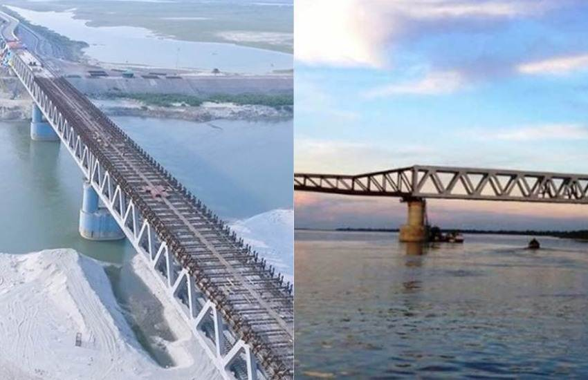 India's Longest Rail Road Bridge, India's Longest Bridge, Bogibeel Bridge, Brahmaputra River, Assam, Arunachal Pradesh, Link, Fully Welded Bridge, Inaugration, PM, Narendra Modi, Assam News, National News, Hindi News