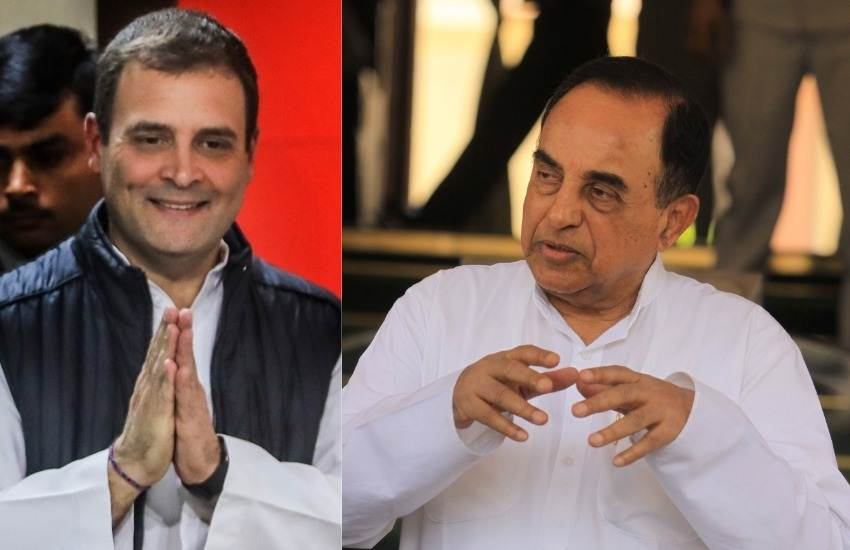 Subramanian Swamy, BJP Leader, Rahul Gandhi, Congress President, PM, Prime Minister of India, Reason, 2019 Elections, Loksabha Elections, National News
