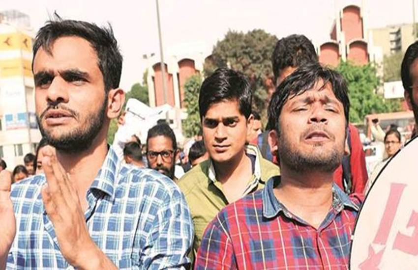 jnu sedition, jnu sedition case, chargesheet, kanhaiya kumar, kanhaiya kumar cases, umar khalid, Anirban Bhattacharya, jnu campus slogans, jnu news, university news, new delhi news, hindi news