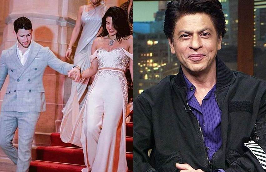 priyanka chopra, shah rukh khan, nick jonas, priyanka srk affair, priyanka srk fight, isha ambani wedding