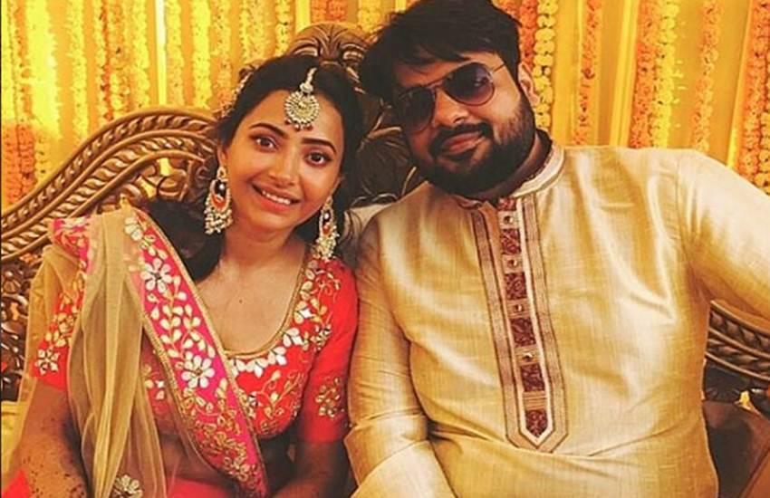 Makdi girl, Makdi actress, Shweta Basu, Shweta Basu latest news, Shweta Basu marriage, Shweta Basu mehendi pics, Rohit Mittal, Chandragupta Maurya