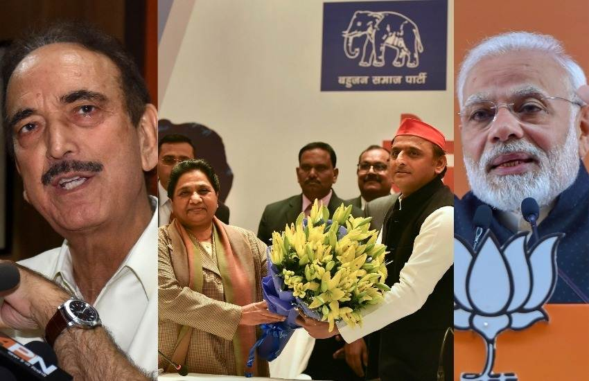 SP BSP Alliance, SP, BSP, Alliance, Narendra Modi, PM, BJP, Congress, UP, Ghulam Nabi Azad, Lucknow, UP, State News, Elections News, Hindi News