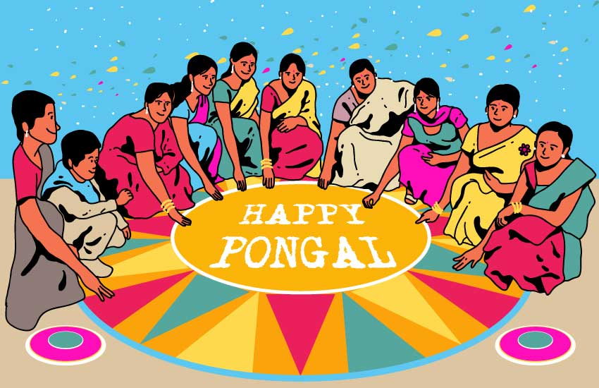 south india, pongal