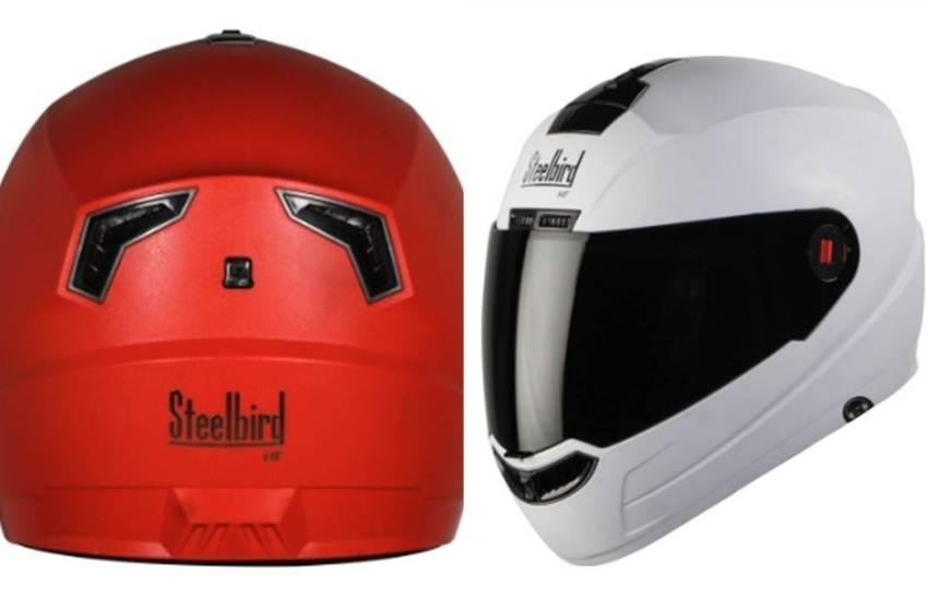 Steelbird SBA-1 HF Helmet, Steelbird High Tech, SBA-1 HF Helmet, New Helmet, Launc, Handsfree Music, Calls Connectivity, Price, Features, Car Bike News, Hindi News