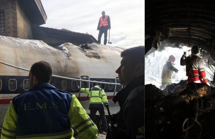 Tehran Plane Crash, Boeing 707 Crash, Boeing 707 Kyrgyz Cargo Plane, Cargo Plane Crash, Tehran, Iran, International News, Hindi News