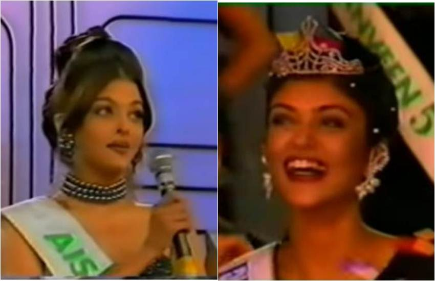 Sushmita Sen, Aishwarya Rai, Miss Universe 1994, Sushmita Sen Miss Universe 1994, Aishwarya Rai Miss World 1994