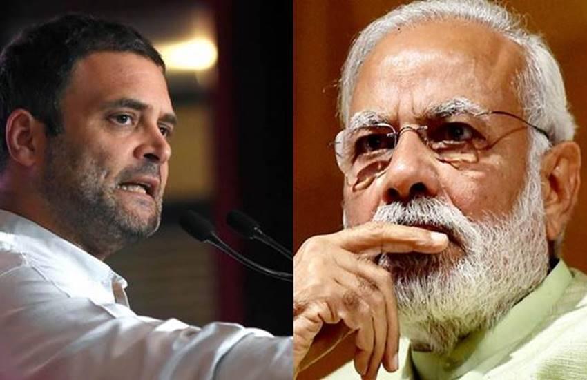 Narendra Modi, Rahul Gandhi, Demonetisation