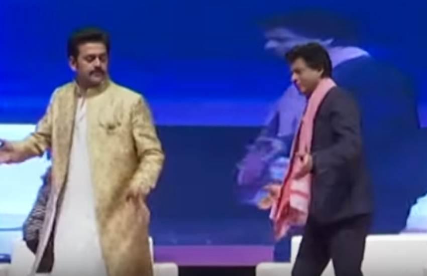 shahrukh khan, Ravi kishan, Shahrukh khan video, Shahrukh khan dance video, Ravi kishan dance with shahrukh khan, shahrukh khan and Ravi kishan