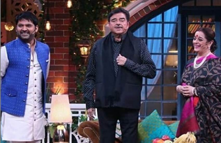 The Kapil Sharma Show, Kapil sharma, The Kapil Sharma show Shatrughan sinha, The Kapil Sharma Show Sunday episode, The Kapil Sharma Show episode, poonam sinha, poonam sinha Shatrughan sinha Love story