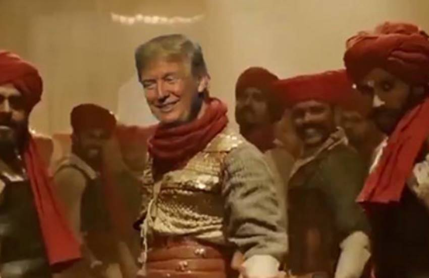 Donald Trump, Ranveer Singh, Donald Trump, Ranveer Singh, Donald Trump dancing in Ranveer Singh crazy song, Surgical Strike 2 Today News, Indian Air Force Aerial Strike, Indian Army Attack Hamla on Pakistan Today, entertainment news, bollywood news, television news
