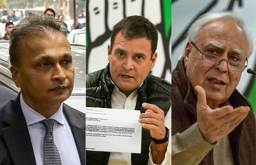 Rafale Jet Deal, Congress, Rahul Gandhi, Attack, Reliance Infrastructure, Advocate, Kapil Sibal, Help, Anil Ambani, Court, National News, Hindi News