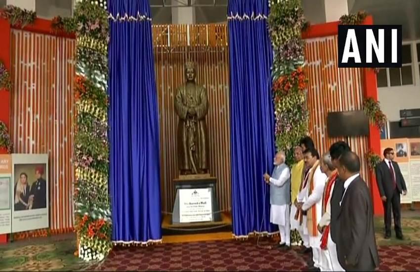 Narendra Modi, Prime Minister, Agartala, Tripura, North East, Statue, Maharaja Bir Bikram Kishore Manikya Bahadur, Sardar Patel, Statue of Unity, Elephant, Kanshiram, Mayawati, BSP, State News, National News, Hindi News