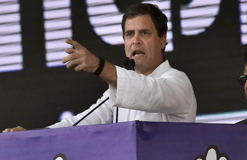 Rahul Gandhi, Congress, Jan Akanksha Rally, Rally, Patna, Bihar, Mahagathbandhan, PM, Narendra Modi, BJP, NDA Government, Patna News, Bihar News, Hindi News