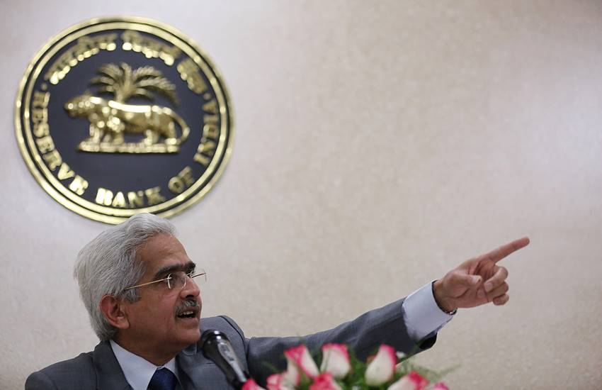 Shaktikanta Das, Reserve Bank of India Governor