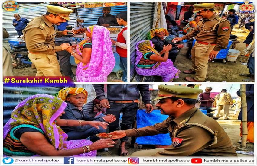 Kumbh Mela 2019: (फोटो सोर्स : कुंभ मेला पुलिस यूपी 2019@kumbhMelaPolUP)