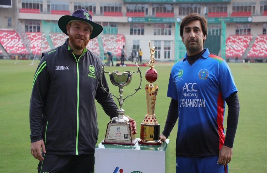 Afghanistan vs Ireland, 1st T20I - Live Cricket Score, Commentary
