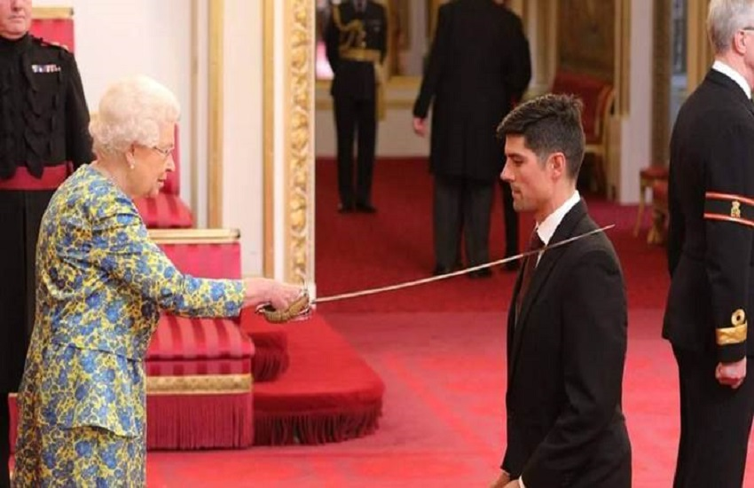 Former England captain, Alastair Cook, knighthood, English player, Essex club, England
