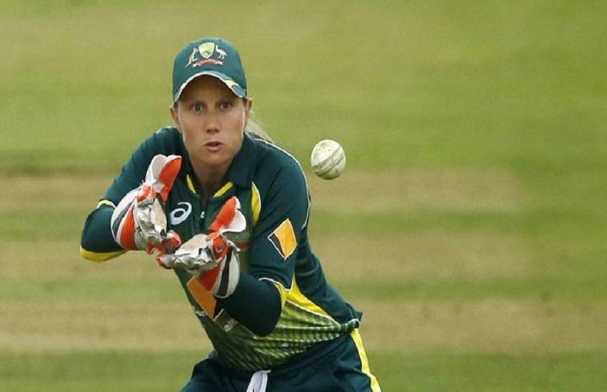 Australia, wicketkeeper, Alyssa Healy, Guinness World Record, 'highest catch of a cricket ball' Melbourne Cricket Ground, MCG