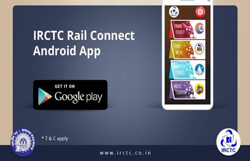 IRCTC, APP, TRAIN, TICKET BOOKING