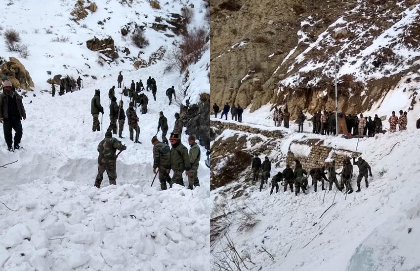 National news, Himanchal Pradesh, ITBP, ITBP Jawan, avalanche, Kinnaur, Shipkala, Rescue operation, Army, Army Jawan, JK Rifles unit