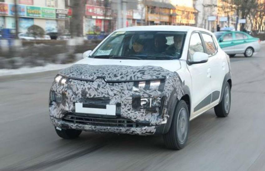 Renault Kwid Electric testing launch soon