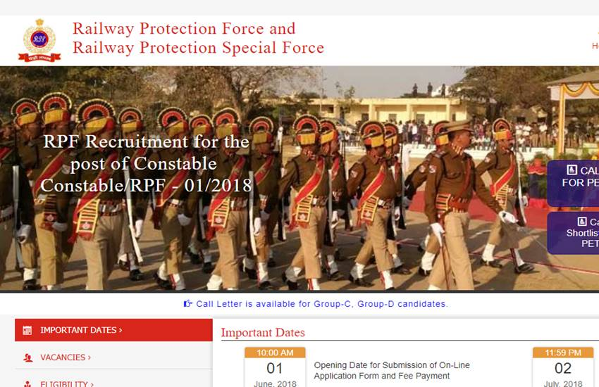 Education News,RPF PMT PET and DV list released,RPF Constable Group E result
