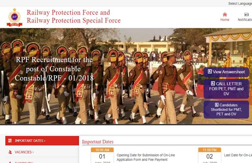 RPF Constable answer sheet, RPF Constable, constable.rpfonlinereg.org, rpf constable negative marking, rpf constable expected cut off 2019, rpf constable cut off 2019, rpf exam