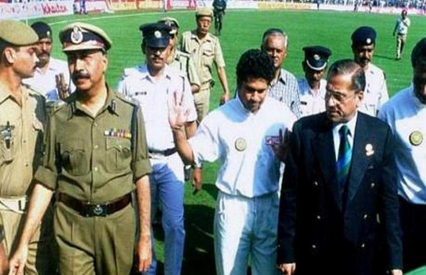 Asian Test Championship, controversial run-out, Riot, India, Sachin Tendulkar, India-Pakistan, सचिन तेंदुलकर, रनआउट,