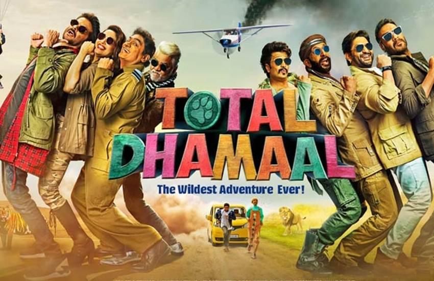 total dhamaal, total dhamaal movie review, total dhamaal review, dhamaal review, dhamaal movie review, total dhamaal film review, total dhamaal full movie review, total dhamaal movie download, total dhamaal movie release, total dhamaal cast, total dhamaal movie rating, total dhamaal film rating, ajay devgan, madhuri dixit, anil kapoor, Arshad Warsi, Riteish Deshmukh, Javed Jaffrey, esha gupta