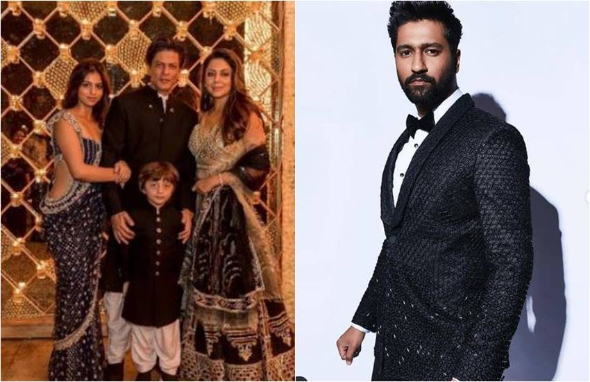 when shahrukh khan call vicky kaushal, shahrukh khan and vicky kaushal, shahrukh khan birthday party, actor vicky kaushal get embarrassed in shahrukh house mannat, vicky kaushal embarrassed in mannat, srk house Mannat party, entertainment news, bollywood news, television news