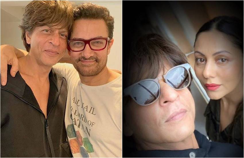 Shahrukh Khan and Aamir Khan, Shahrukh Khan and Aamir Khan, when srk Invited aamir khan in mannat, Aamir Khan says no to eat food in shahrukh khan house, house of shahrukh khan, aamir says not to shahrukh hose food in front of Apple ceo, entertainment news, television news, entertainment news