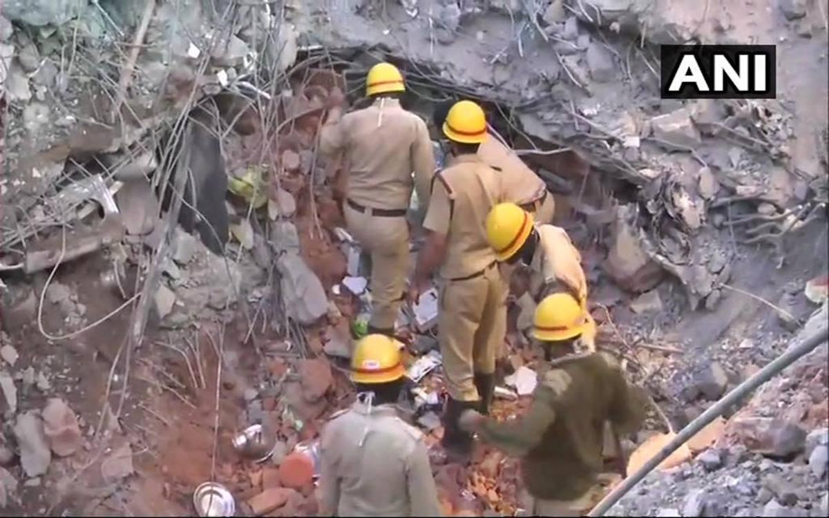 धारवाड़ में निर्माणाधीन इमारत गिरने से 13 की मौत, फोटो सोर्स- ANI