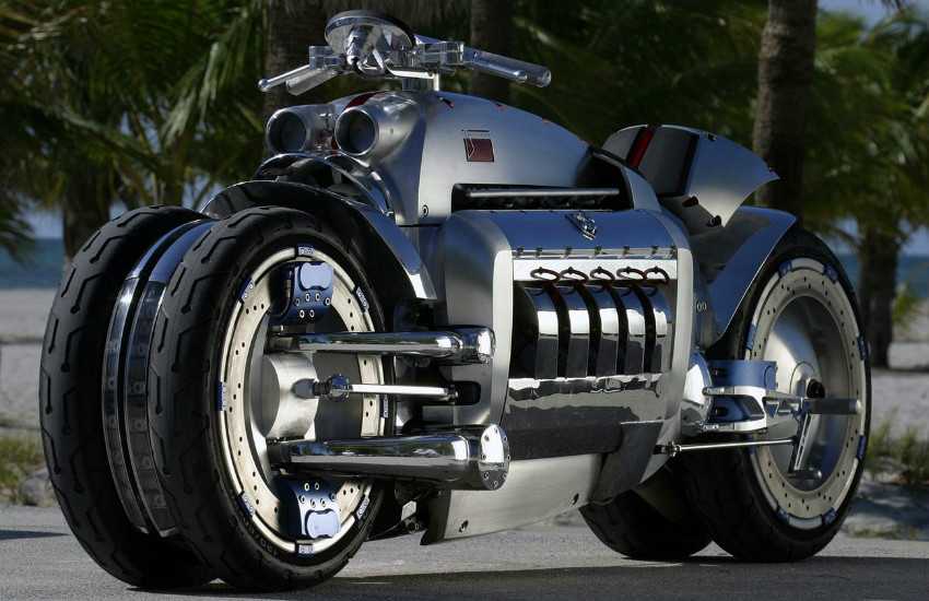 Top 5 World's Most Fastest Motorcycle in 2019 Dodge Tomahawk