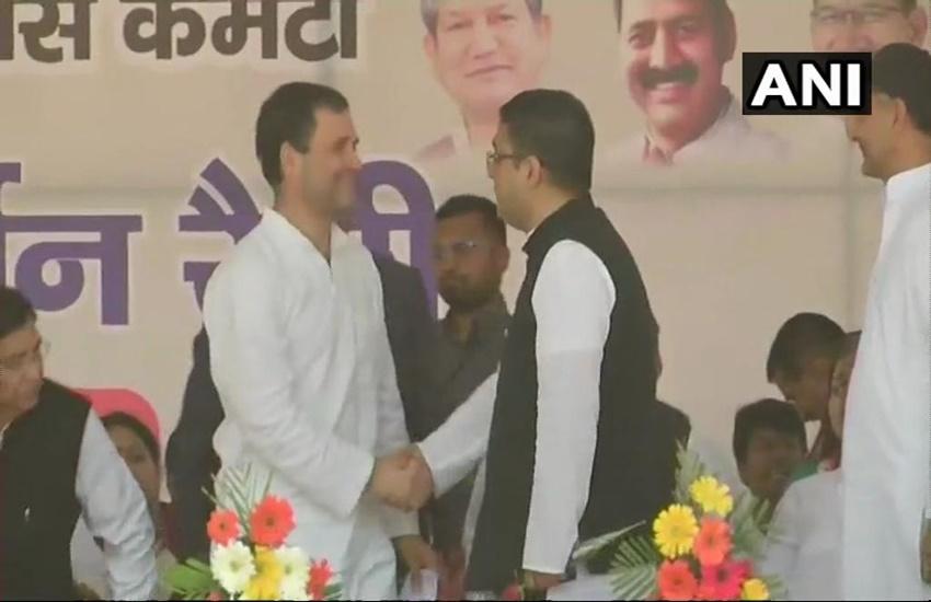 Manish Khanduri, the son of former Uttarakhand CM joins congress