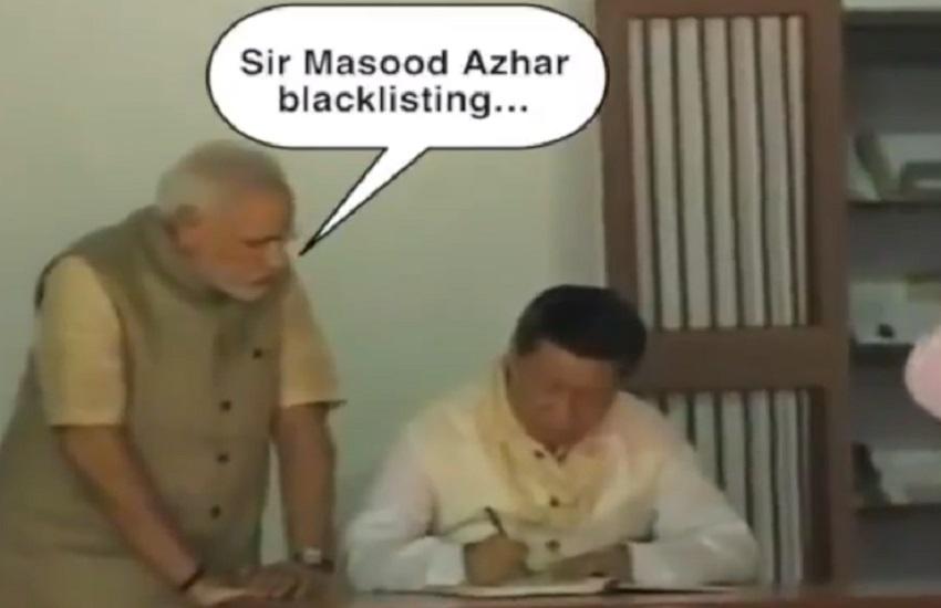 Modi Jinping Congress Video