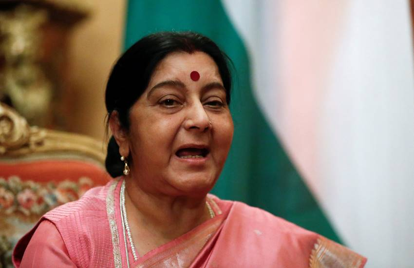 sushma swaraj, sushma swaraj news, sushma swaraj twitter, sushma swaraj twitter team