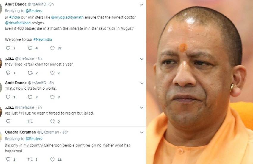 Gorakhpur Children Death, Gorakhpur, Children, Uttar Pradesh, CM, BJP, Yogi Adityanath, Troll, Twitter, Tunisia, Health Minister, Resign, Baby, Death, Hospital, India News, Trending News, Hindi News