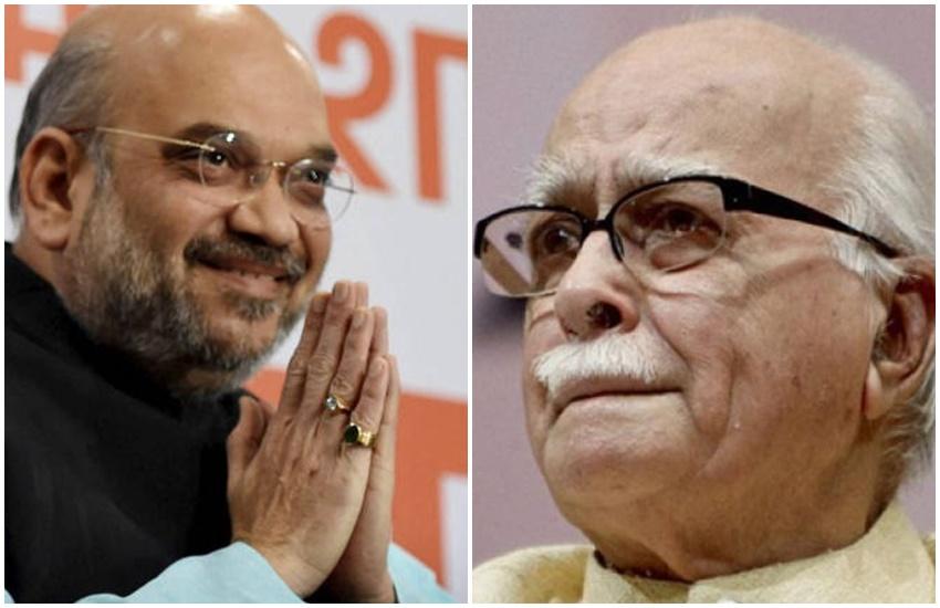 Amit Shah, LK Advani, Lok Sabha Election 2019,