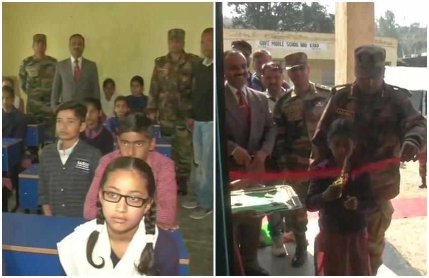 indian army, samba, army, gov school