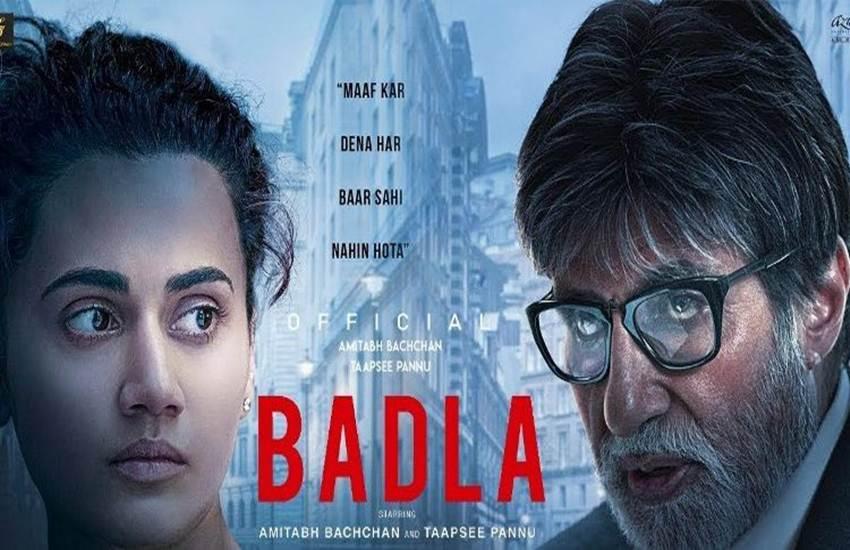 Badla, Badla movie review, Badla review, Badla film review, Badla movie release, Badla movie download, Badla full movie download, Badla cast, Badla movie rating, Badla film rating, Amitabh bachchan, Tapsee Pannu, Amitabh bachchan Badla, Badla