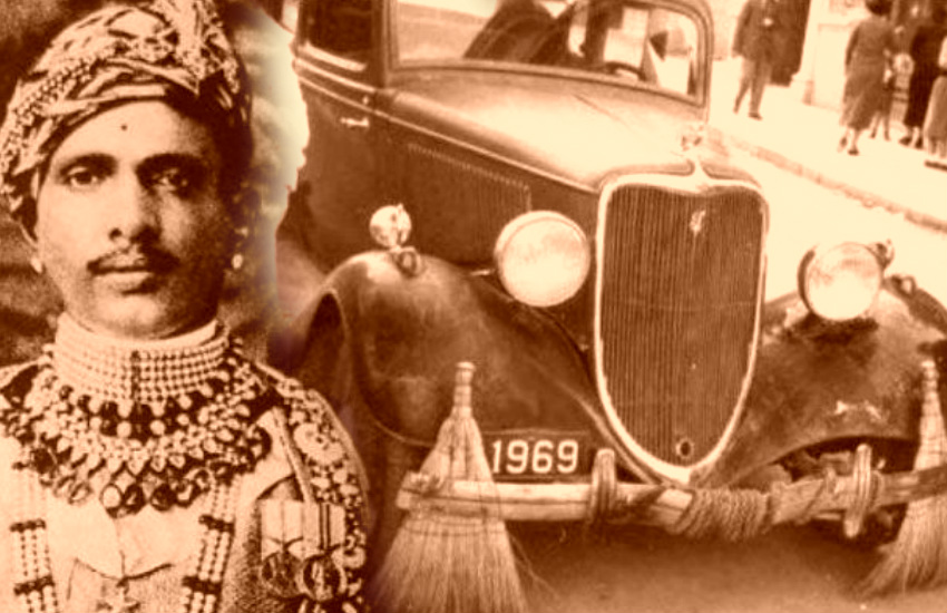 Rolls Royce used by King of alwar Jai Singh, rolls royce and king jai singh story, story of rolls royce and maharaja jai singh, king of alwar maharaja jai singh story, rolls royce used for garbage collection