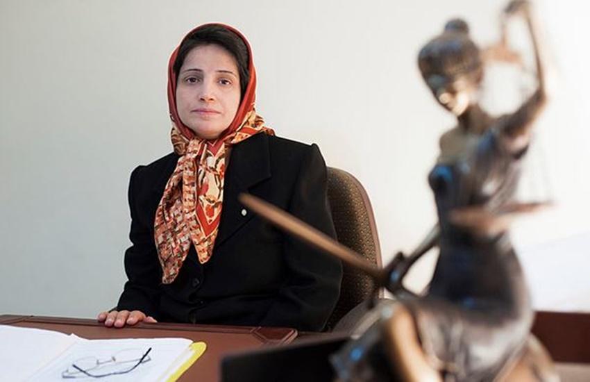 Iran, Iran news, Human rights lawyer, jail, Nasrin Sotoudeh, Tehran, European parliament, lashes, protest