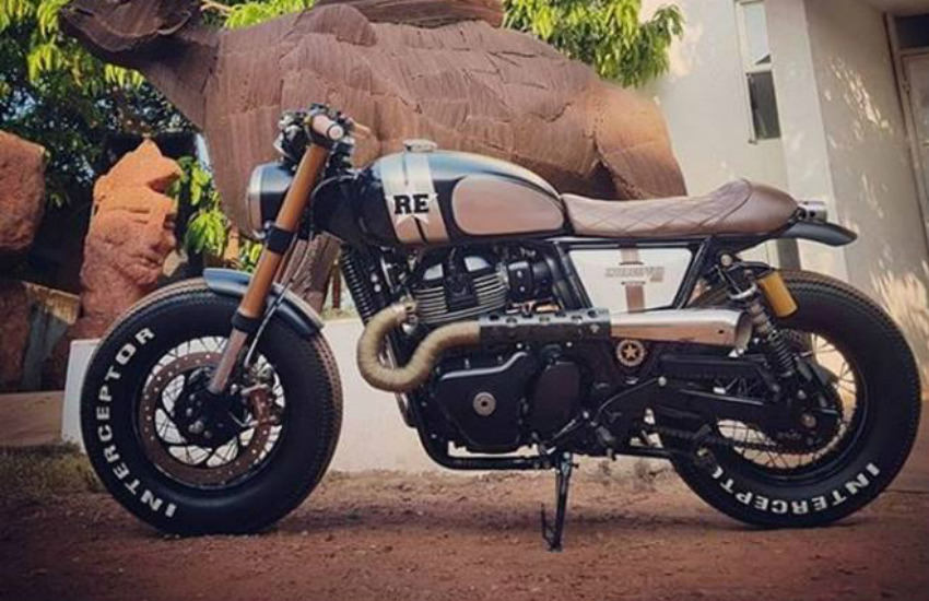 Royal Enfield Interceptor 650 Bulleteer Customs built a 'Hooligan
