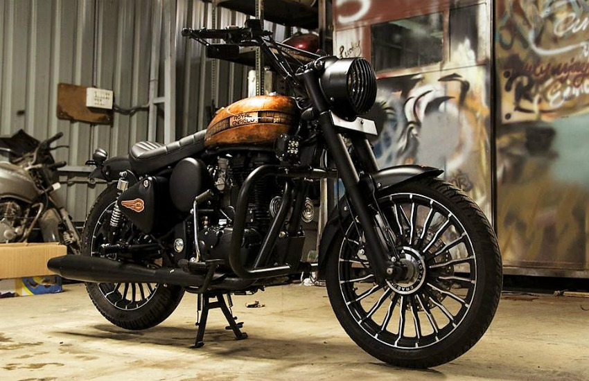 Royal Enfield Classic 350 Cupris, Royal Enfield Classic 350 modification, Royal Enfield Classic 350 modified, Royal Enfield bullet modified, how to modified royal enfield