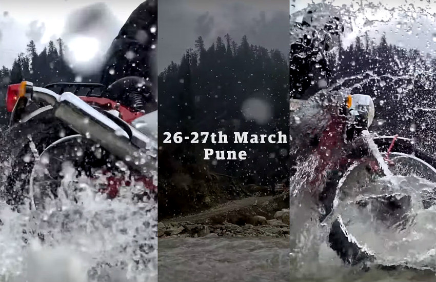 Royal Enfield Trials official teaser video, Royal Enfield Trials price, Royal Enfield Trials feature, Royal Enfield Trials scrambler detail, Royal Enfield Trials pictures