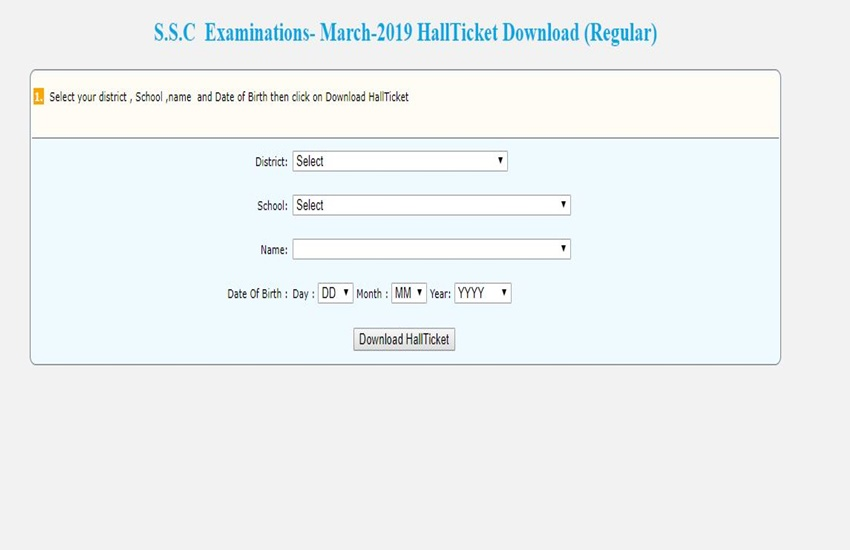 telangana, hall ticket, ssc